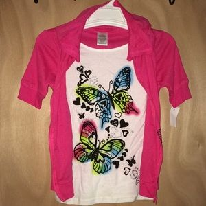 Other - NWT. Adorable Butterfly top size 10/12.